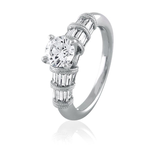 Divine Diamond Solitaire Ring(1.79ct t.w)