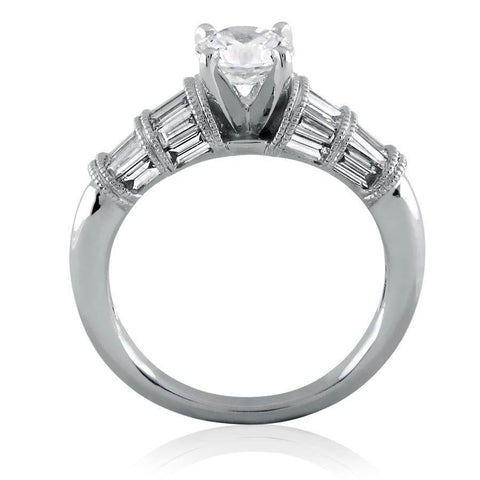 Image of Divine Diamond Solitaire Ring(1.79ct t.w)