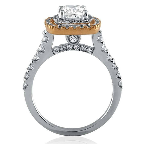 Image of Neo Engagement Rings in White Gold