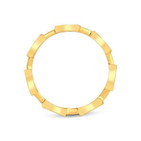 Gold-plated Multi-circle Ring