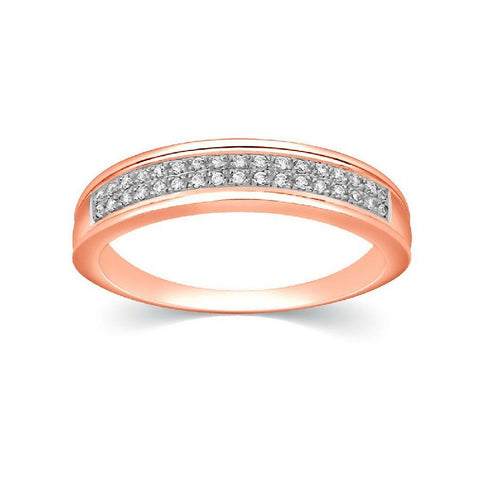 Image of Modern Bands and Stackables in Rose Gold
