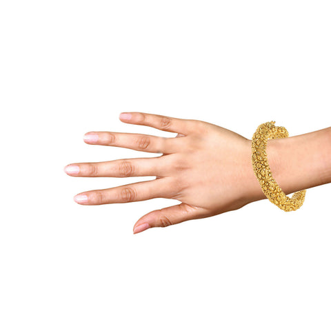 Image of Antique look Gold Kada