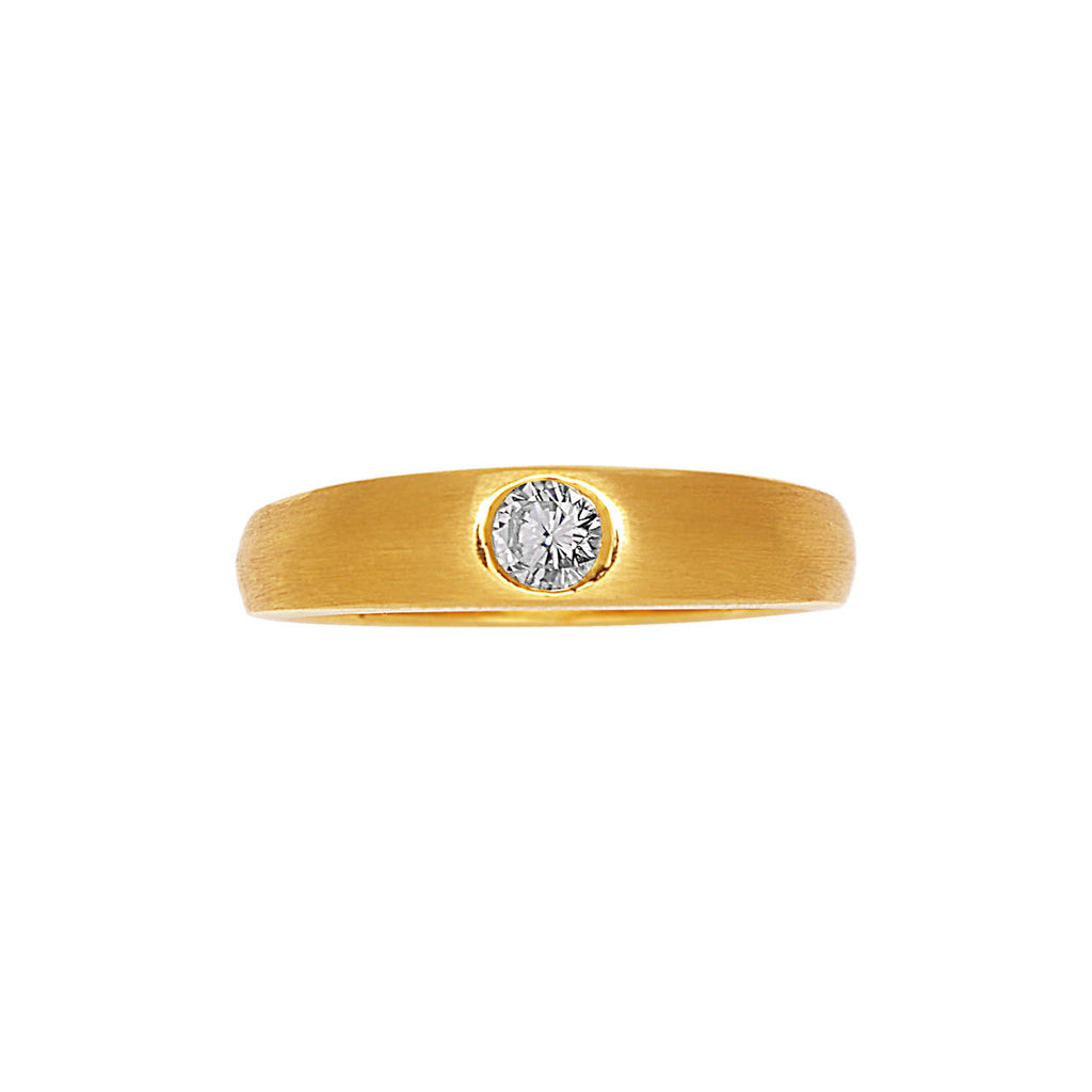 Bold Diamond Men'S Ring
