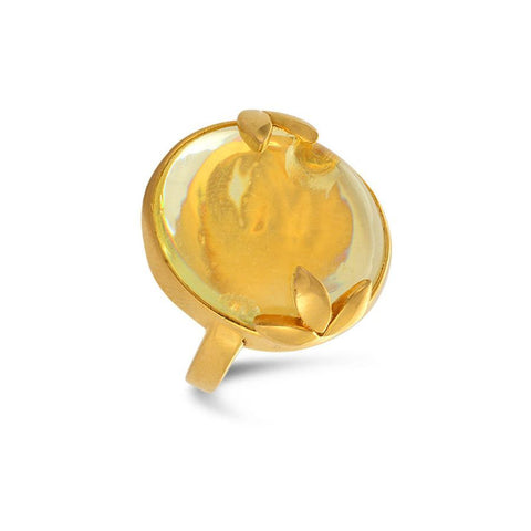 Image of Citrine Ring