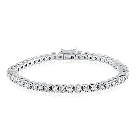 Image of Classic Vintage Diamond Tennis Bracelet