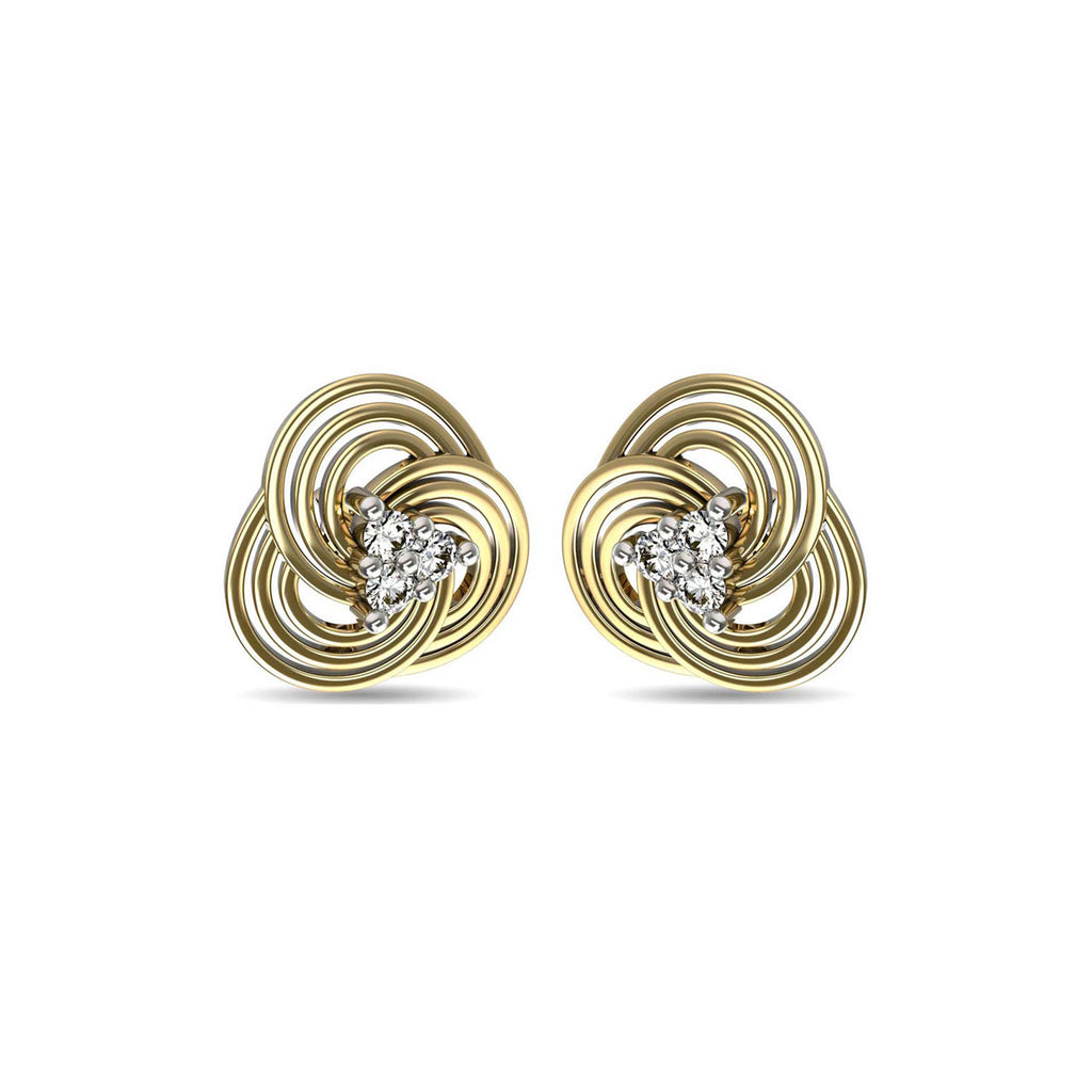 Concentrica Stud Earrings