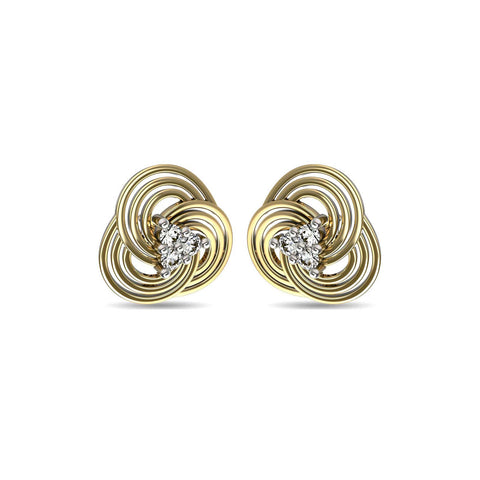 Image of Concentrica Stud Earrings