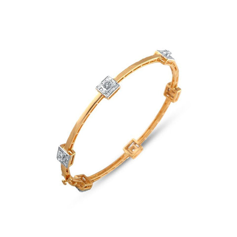 Cosmopolitan Diamond Bangle
