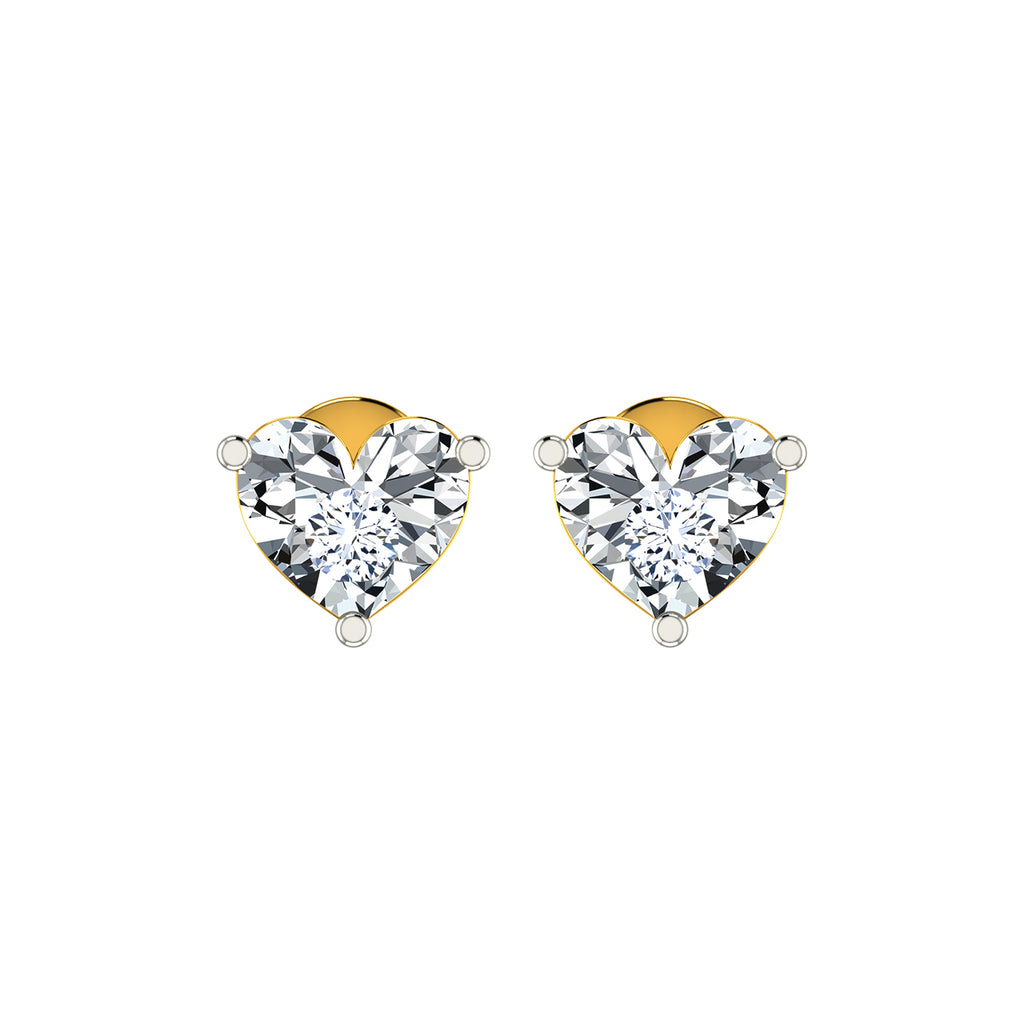 DIAASHI Diamond Heart Miracle Earrings