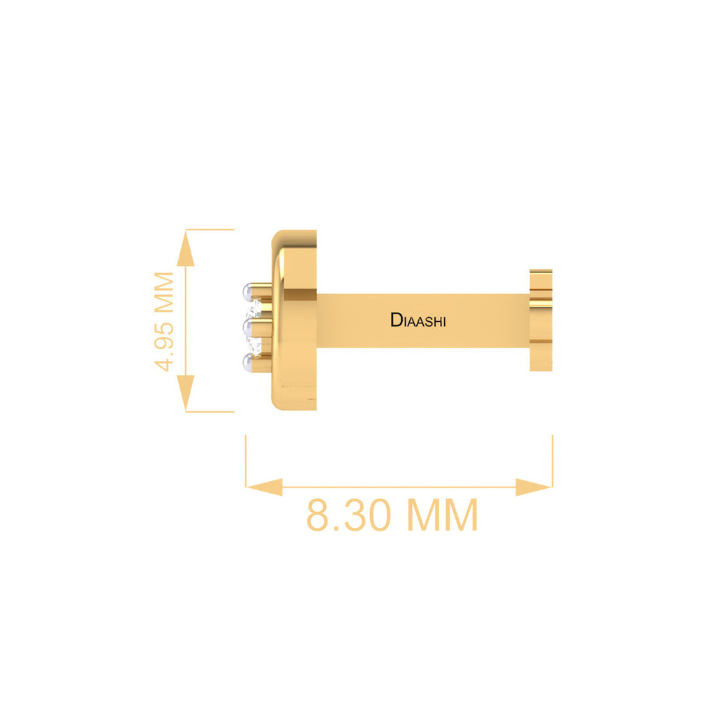 DIAASHI Diamonds Durga Nosepin