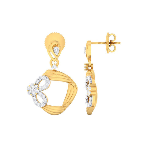 Image of Diamond Celia Earrings