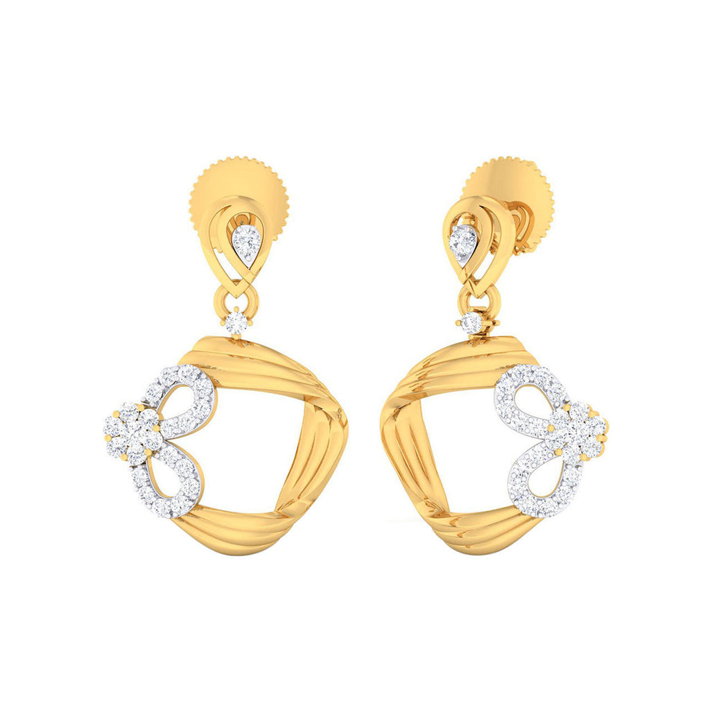 Diamond Celia Earrings