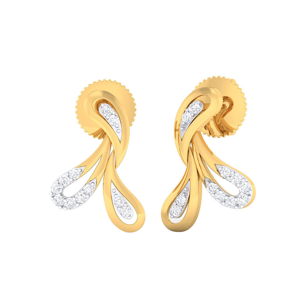 Diamond Lillie Earrings