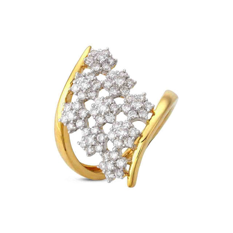 Floral Dazzle Ring