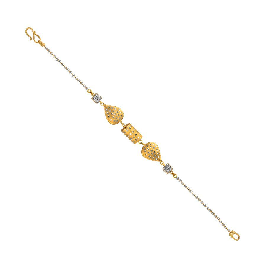 Gold Shapes Bracelet