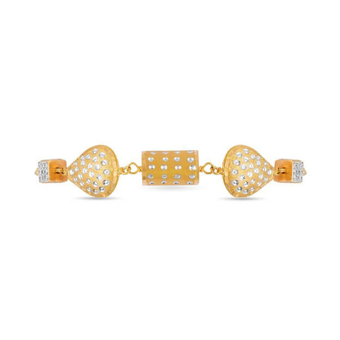 Image of Gold Shapes Bracelet