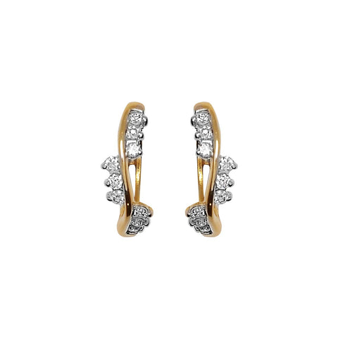 Image of Lante Diamond Earriings