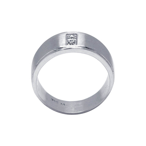 Matte And Edgy Men'S Ring