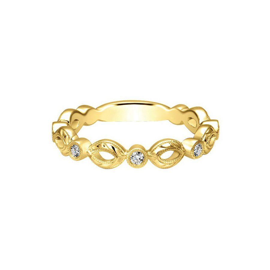 Neo Casual Rings in Yellow Gold