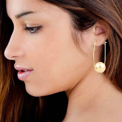 Image of Parallele Earrings - Gold