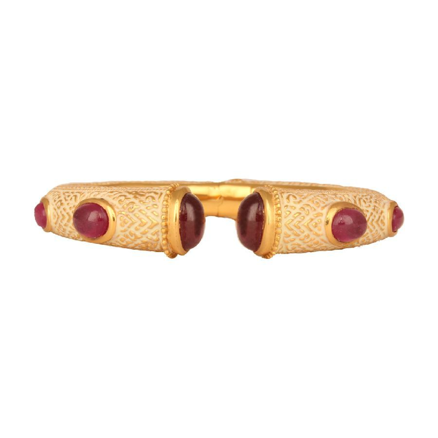 Princess Ruby Cuff Bangle