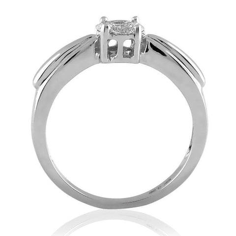 Round Ribbon Cluster Ring (0.6 ct t.w)
