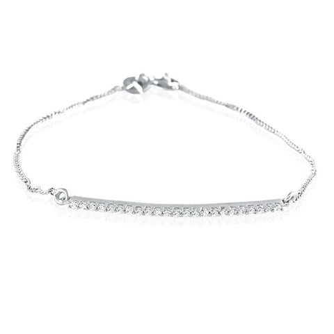 Image of Timeless Diamond Band Bracelet