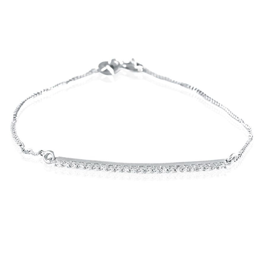 Timeless Diamond Band Bracelet