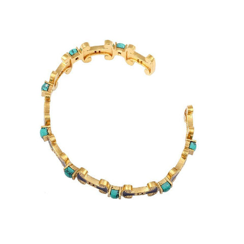 Image of Turquoise Egyptian Inspired Bracelet