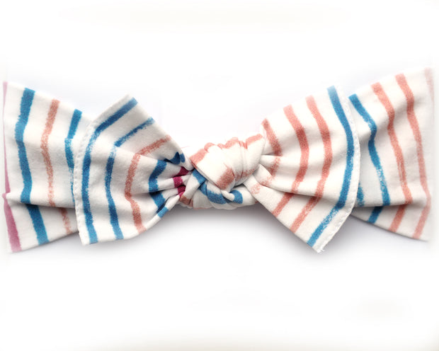 * NEW * Autumn Stripe Pippa Bow