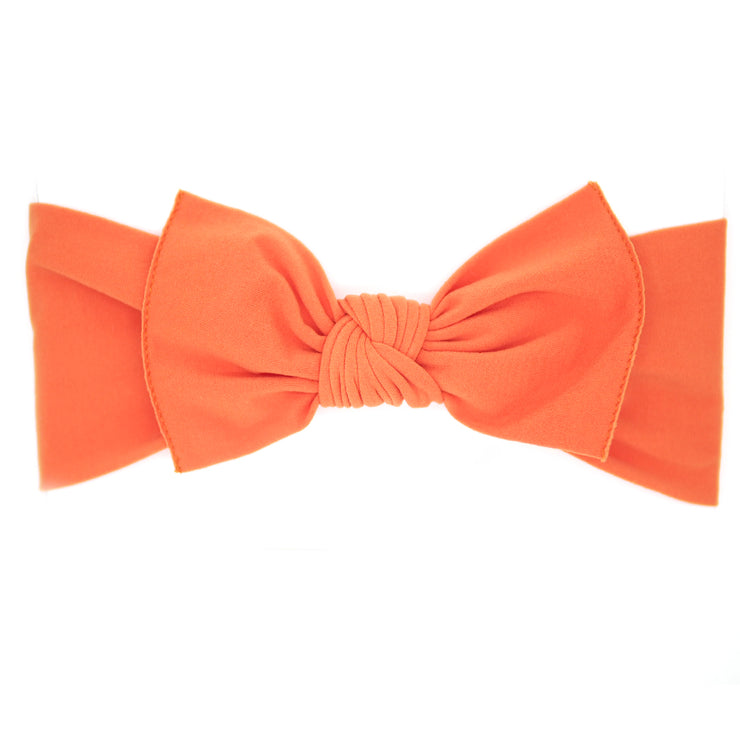 Orange Pippa Bow