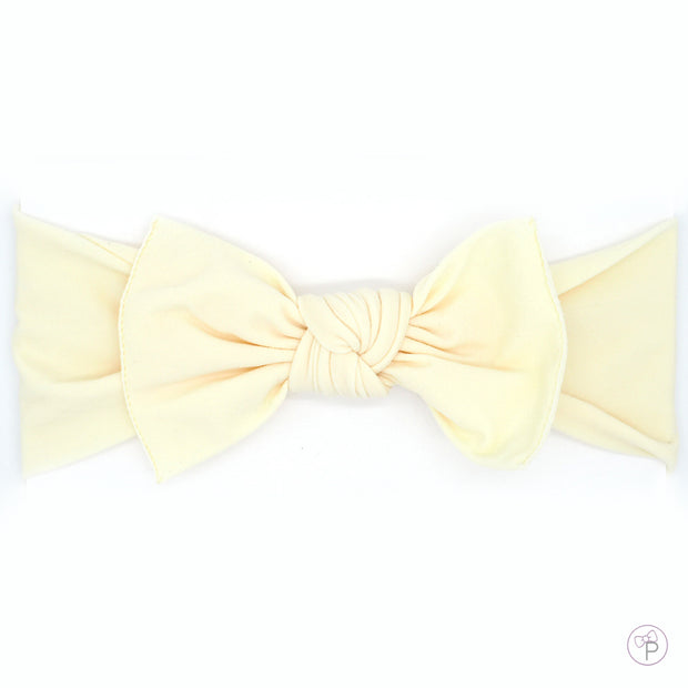Cream Pippa Bow