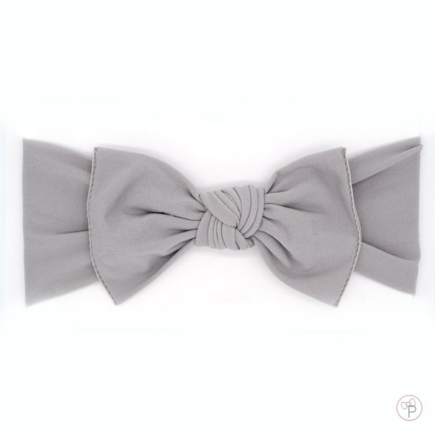 Grey Pippa Bow