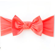 *NEW* Coral Pippa Bow