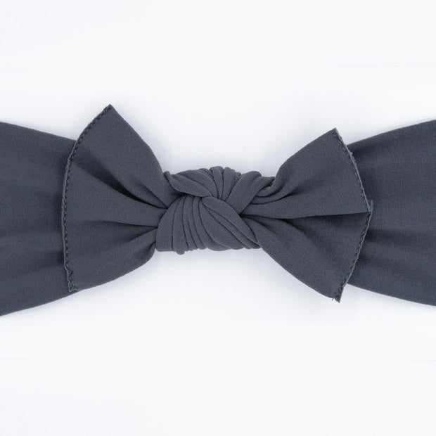Charcoal Pippa Bow