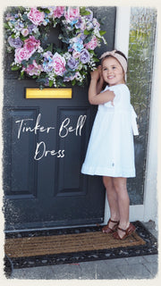 Tinker Bell Dress - White