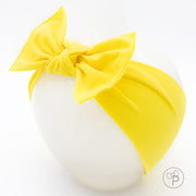 Yellow Pippa Bow