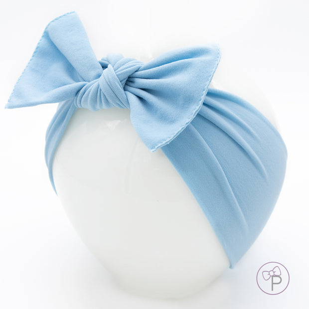 Powder Blue Pippa Bow