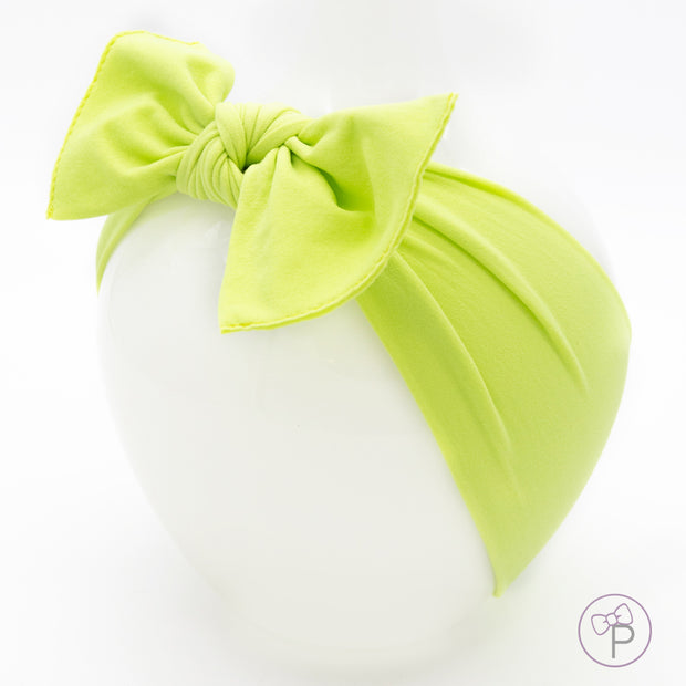 Lime Pippa Bow