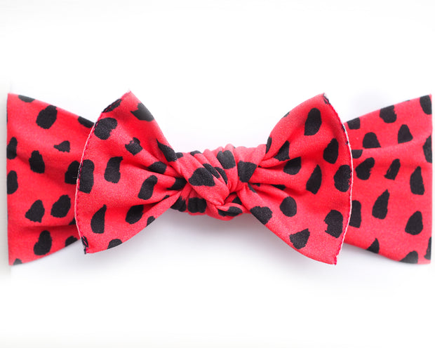* NEW * Watermelon Print Pippa Bow