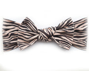 * NEW * Zebra Pippa Bow