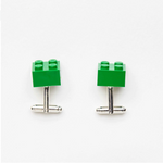 green bricks cufflinks