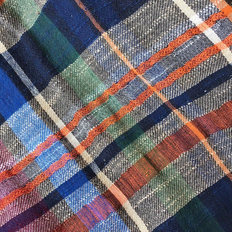 ace&jig textile swatch of cabin plaid