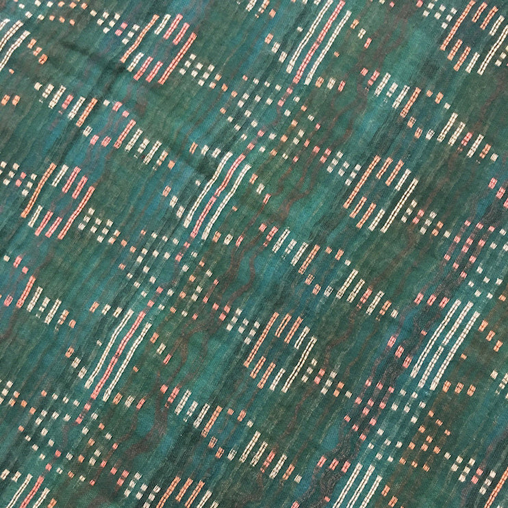 ace&jig textile swatch of emerald