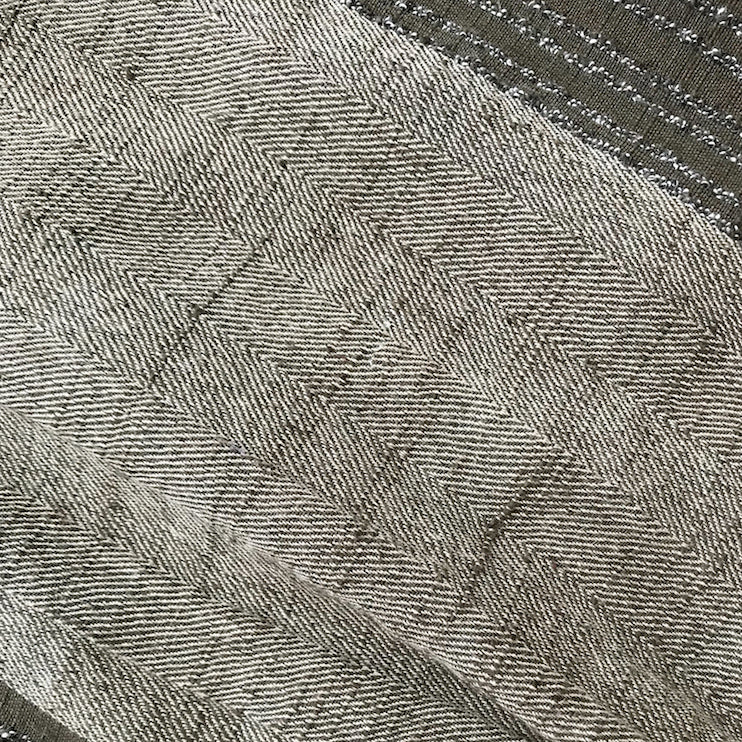 ace&jig textile swatch of military