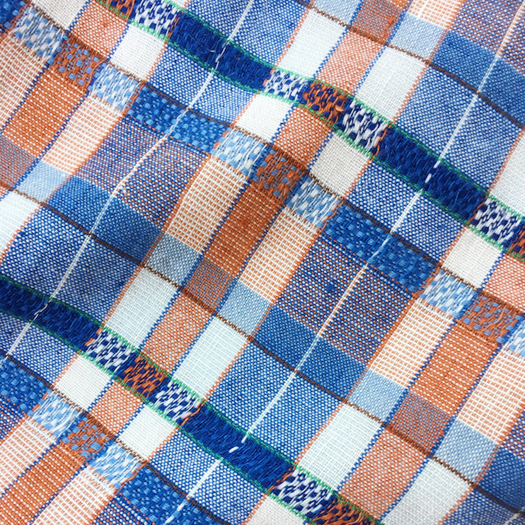 ace&jig textile swatch of regatta plaid