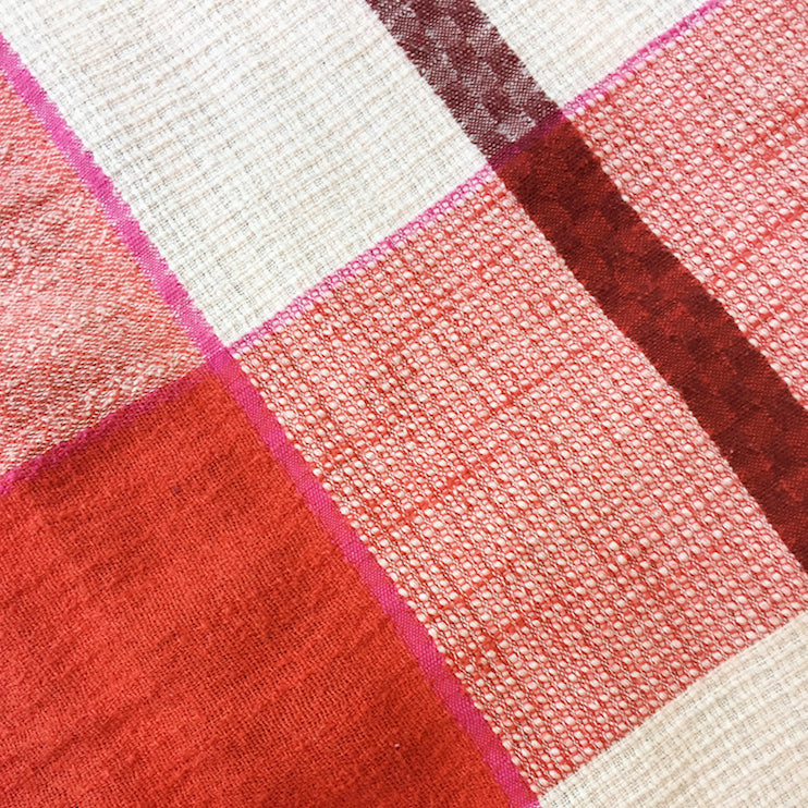 ace&jig textile swatch of rouge