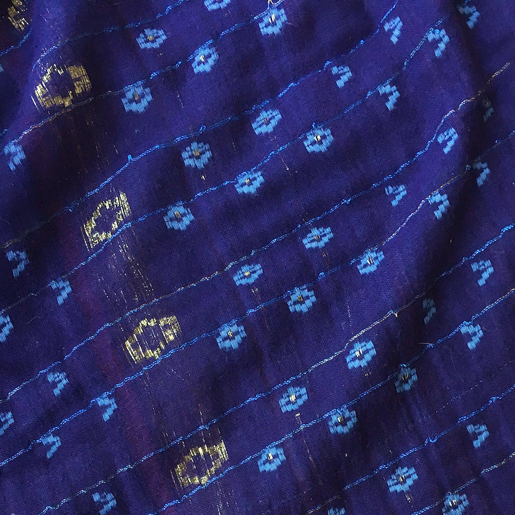 ace&jig textile swatch of royal