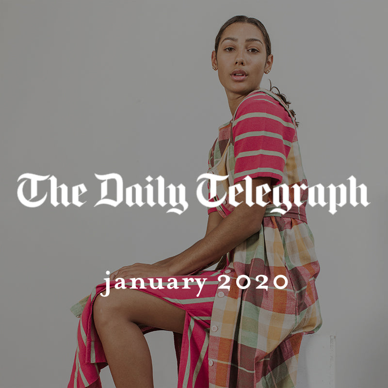 ace&jig featured in the daily telegraph, january 2020