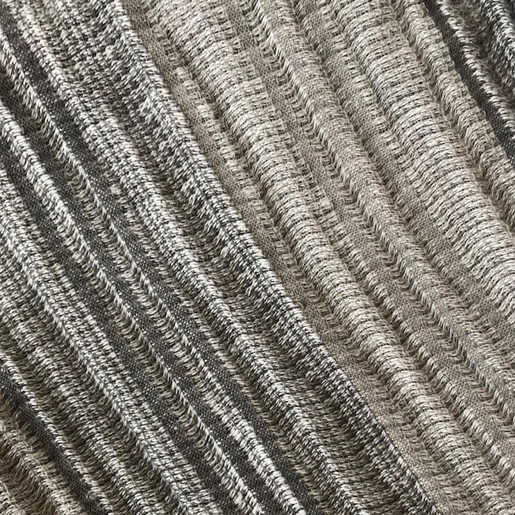 ace&jig textile swatch of vintage grey striped